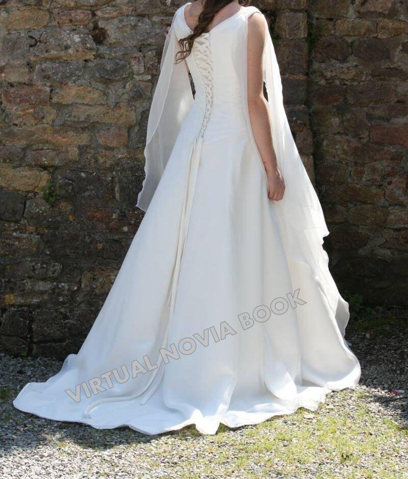Vestido de novia medieval :: Virtual Novia Book | Vestidos de novia ...