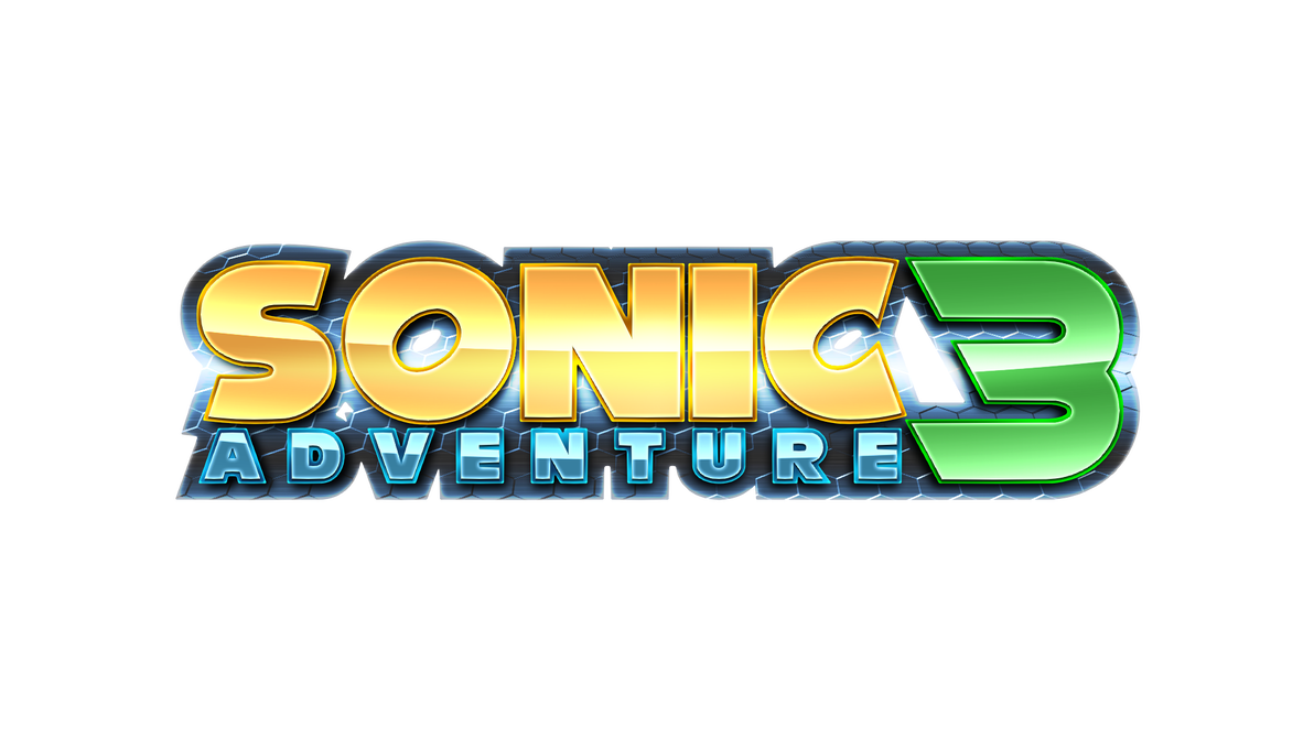 Sonic Adventure 3 Custom Logo 2 By Https Www Deviantart Com Mauritaly On Deviantart Sonic Adventure Sonic Adventure