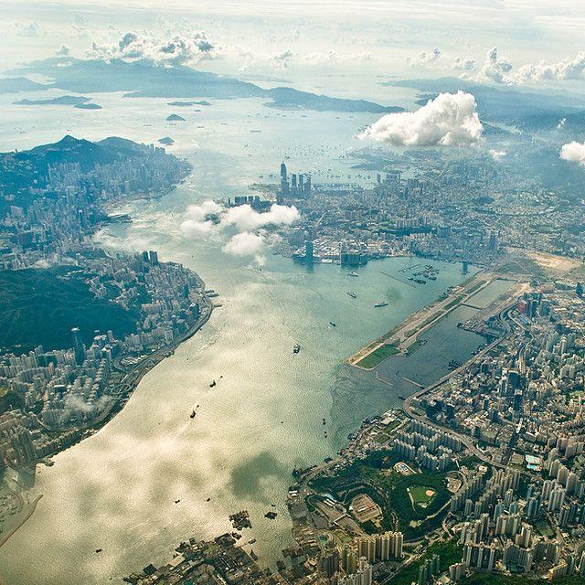 I Hk Hong Kong Island Aerial View Hong Kong