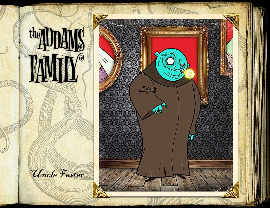 Uncle fester the addams family pinterest - Explore The Addams Family Factories And More