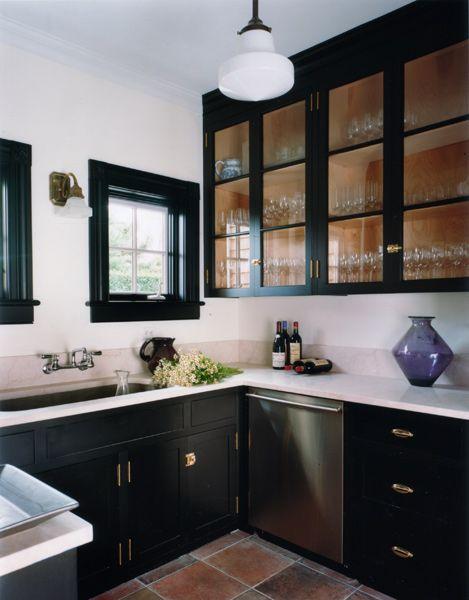 Best Cbw Architects Southampton Summer Cottage Black Kitchen 400 x 300