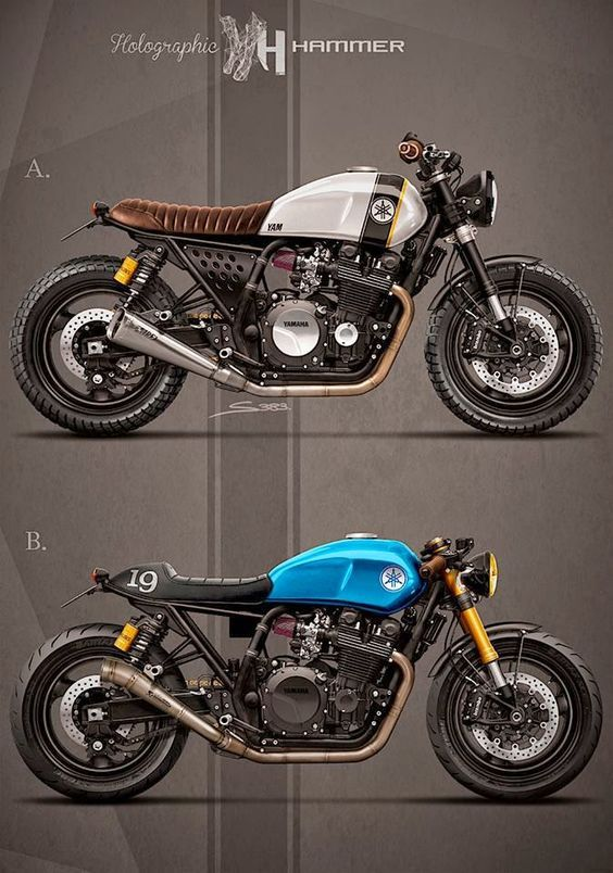 Cafè Racer Concepts - Yamaha XJR 1300 1998 by Holographic Hammer: