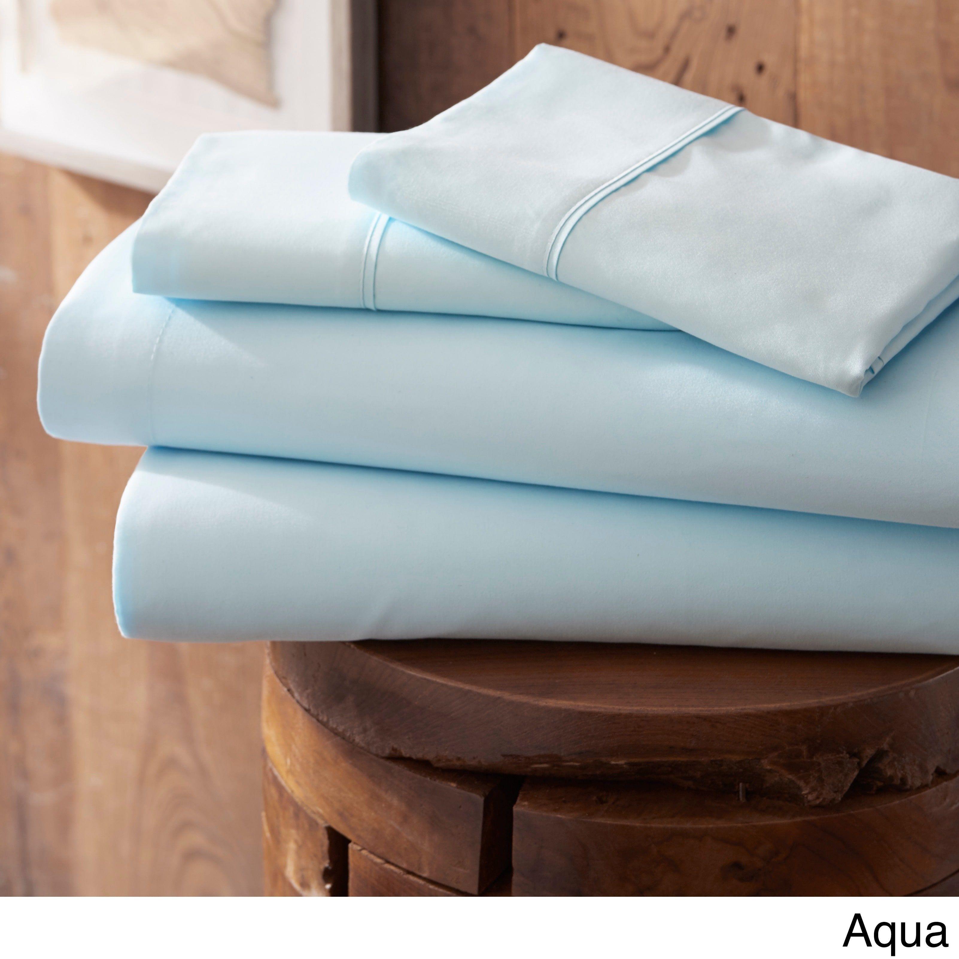 Becky Cameron Luxury Ultra Soft 4 Piece Bed Sheet Set | Overstock.com  Shopping