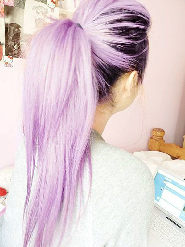 16 Gorgeous Examples Of The Lavender Hair Color Trend Pinterest