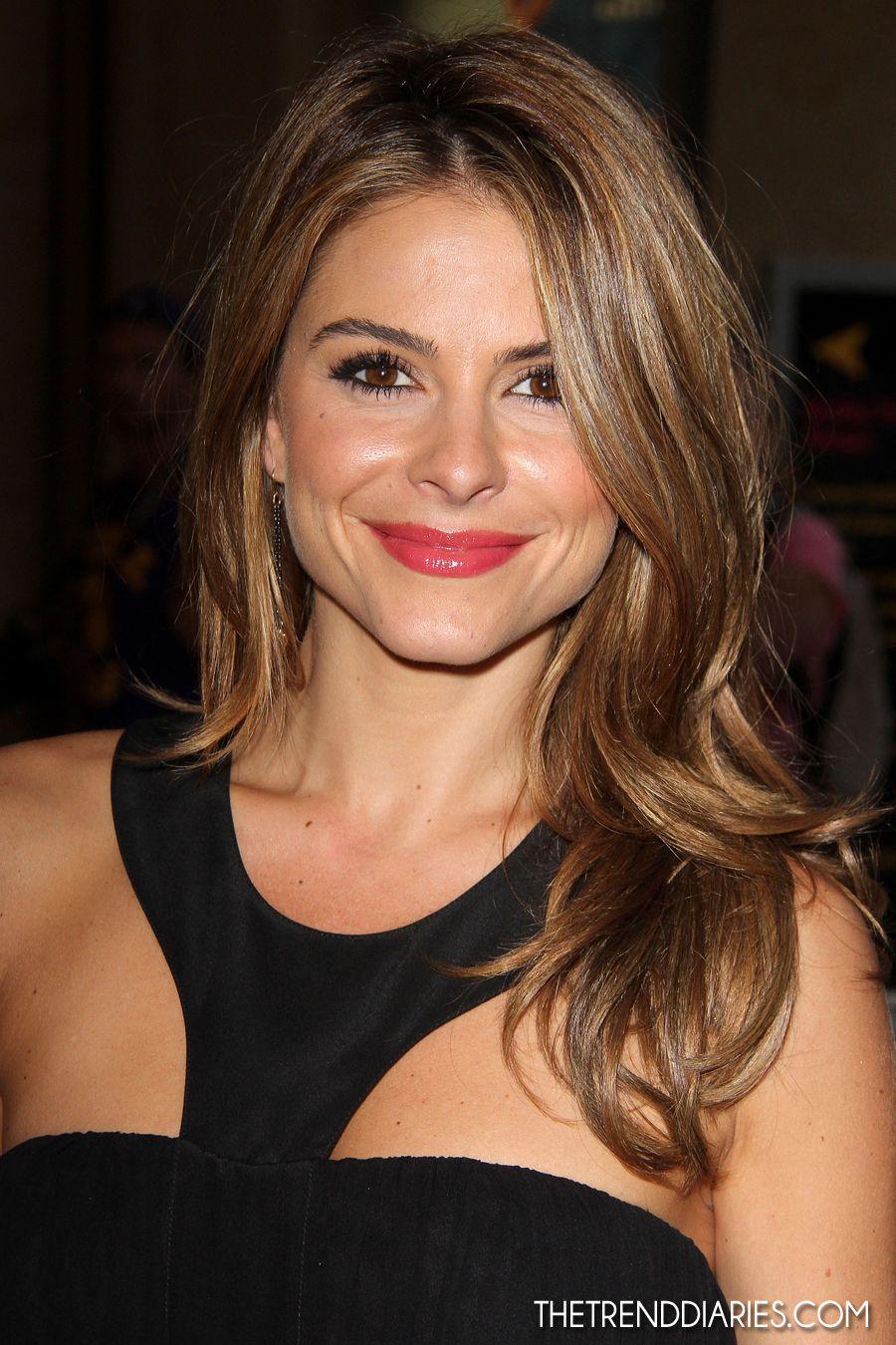 Maria Menounos Always Has Good Hair Hair Makeup And
