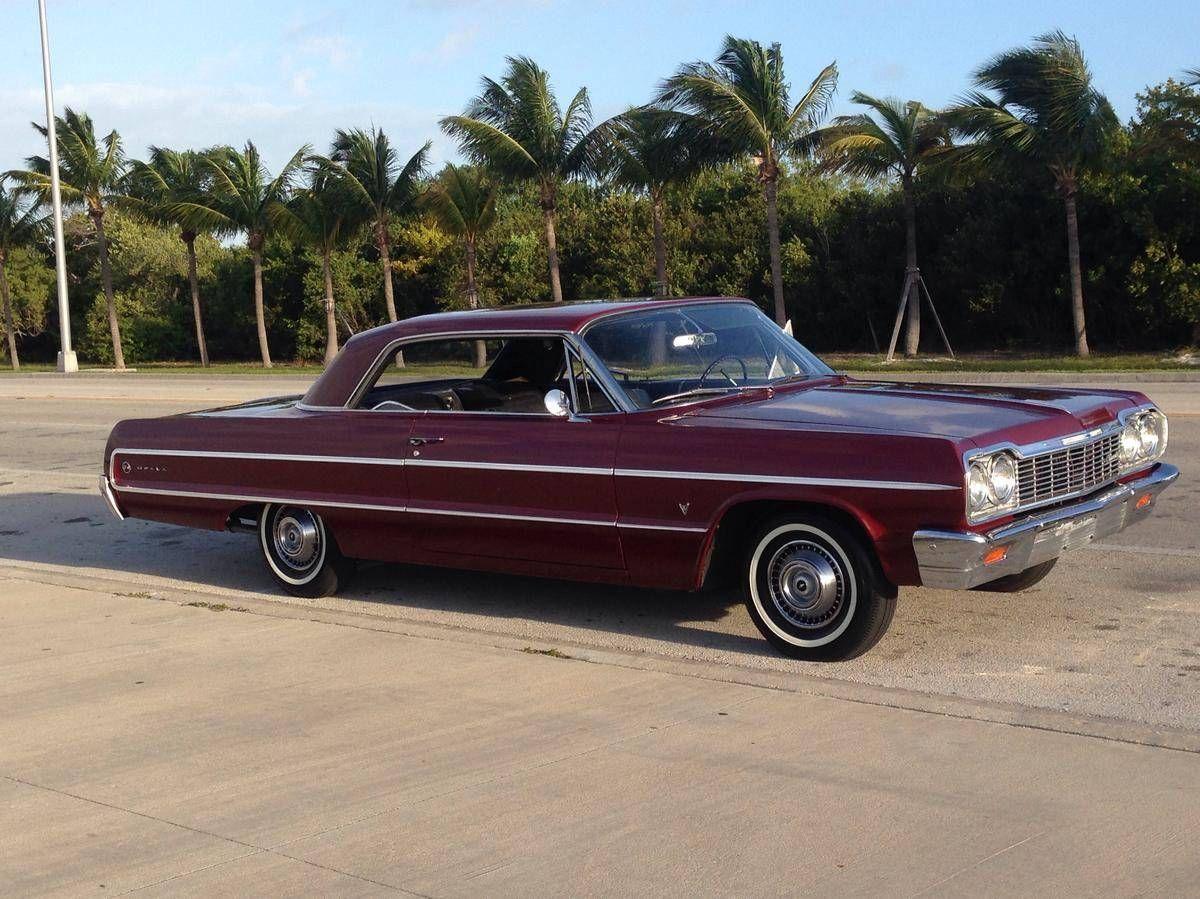 1964 Chevrolet Impala 2 Door Hard Top Chevrolet Impala Chevrolet Impala