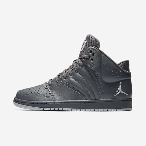 Heren Nike Jordan 1 Flight 4 Dark Basketbalschoenen 820135