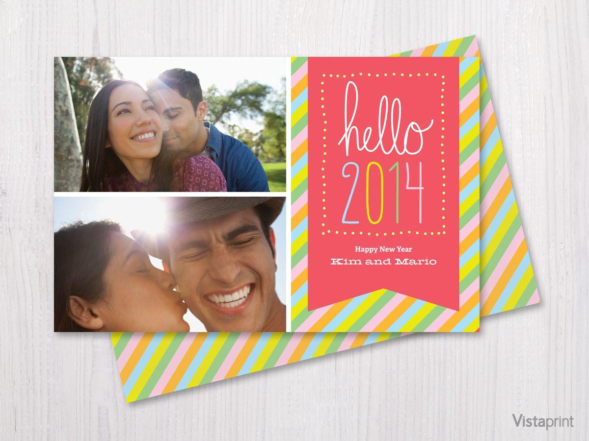 Happy New Year Card Vistaprint New Year Greeting Cards New Year Greetings Happy New Year Cards