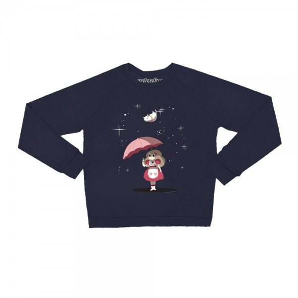 Raining Puppycats Pullover Sweater Bee And Puppycat Pinterest