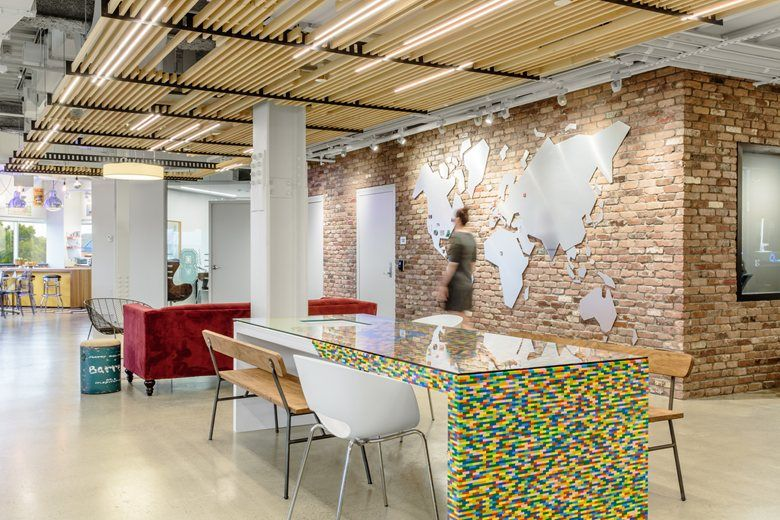 The Most Beautiful Office In Boston! Headquarters For Kaminario, The  International Data Storage Company., Needham Junction, 2016   Studio  Samuelov