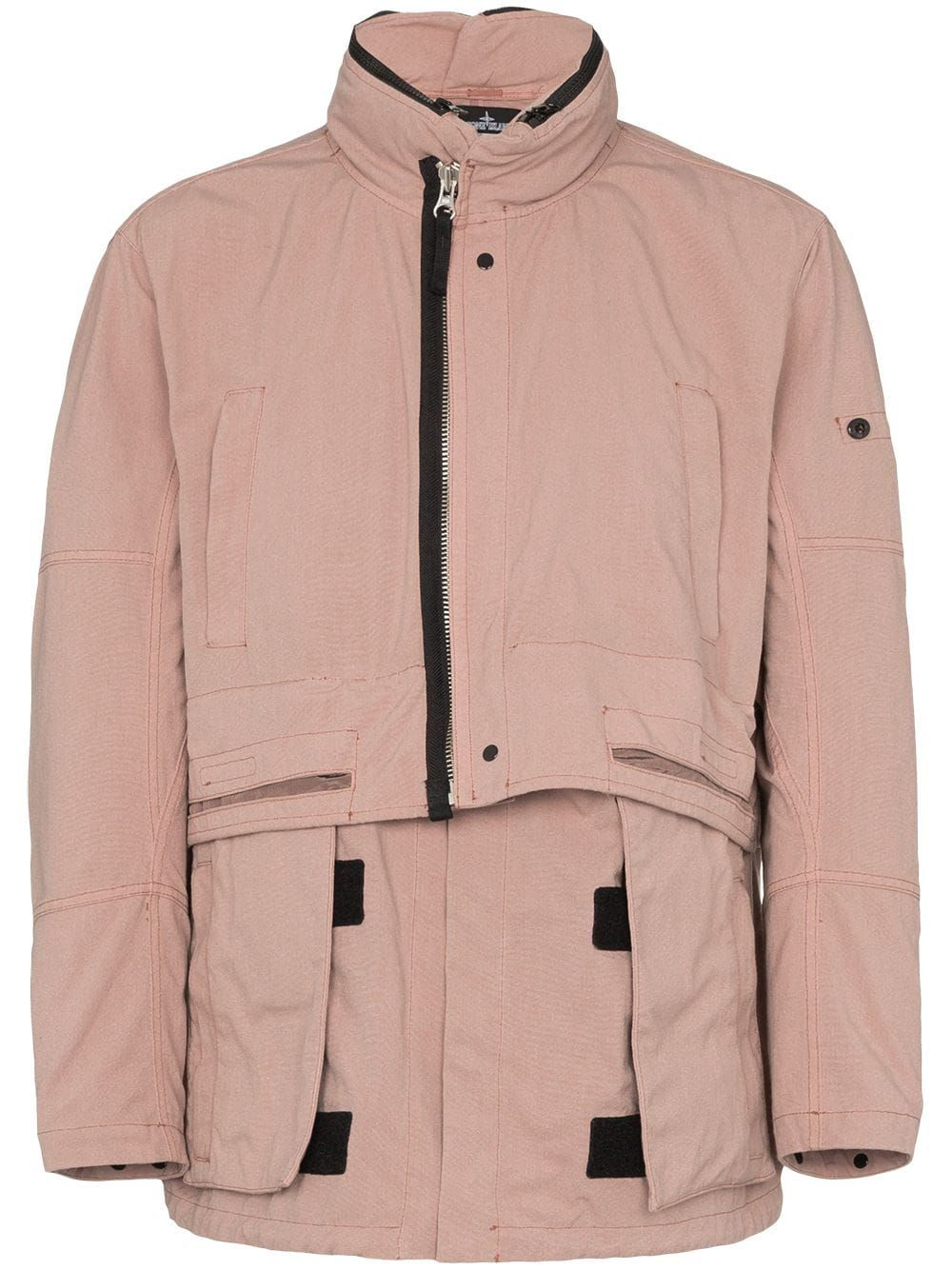 3eb02ad5e Stone Island Shadow Project windbreaker jacket - Pink | Products in ...
