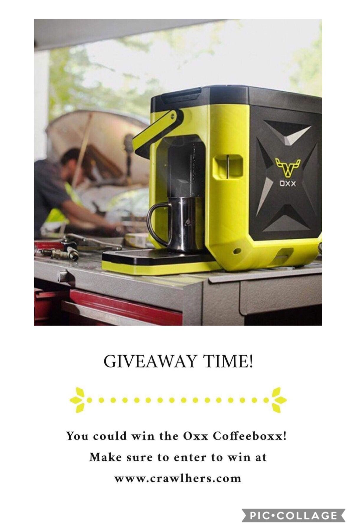 ENTER TO WIN a COFFEEBOXX from Crawlher and Oxx