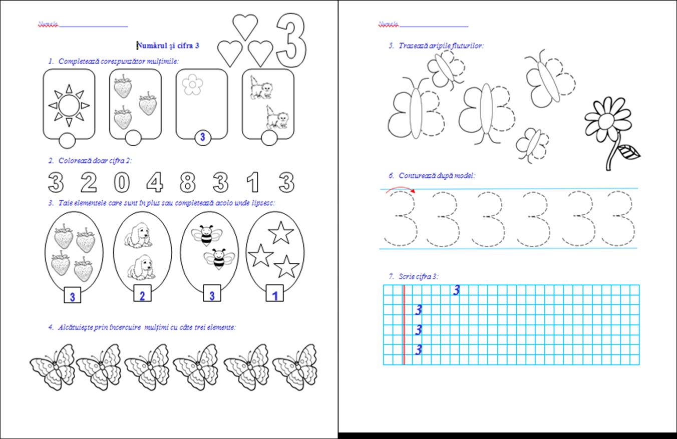 Alfabet Colorat Copii Litera Aa
