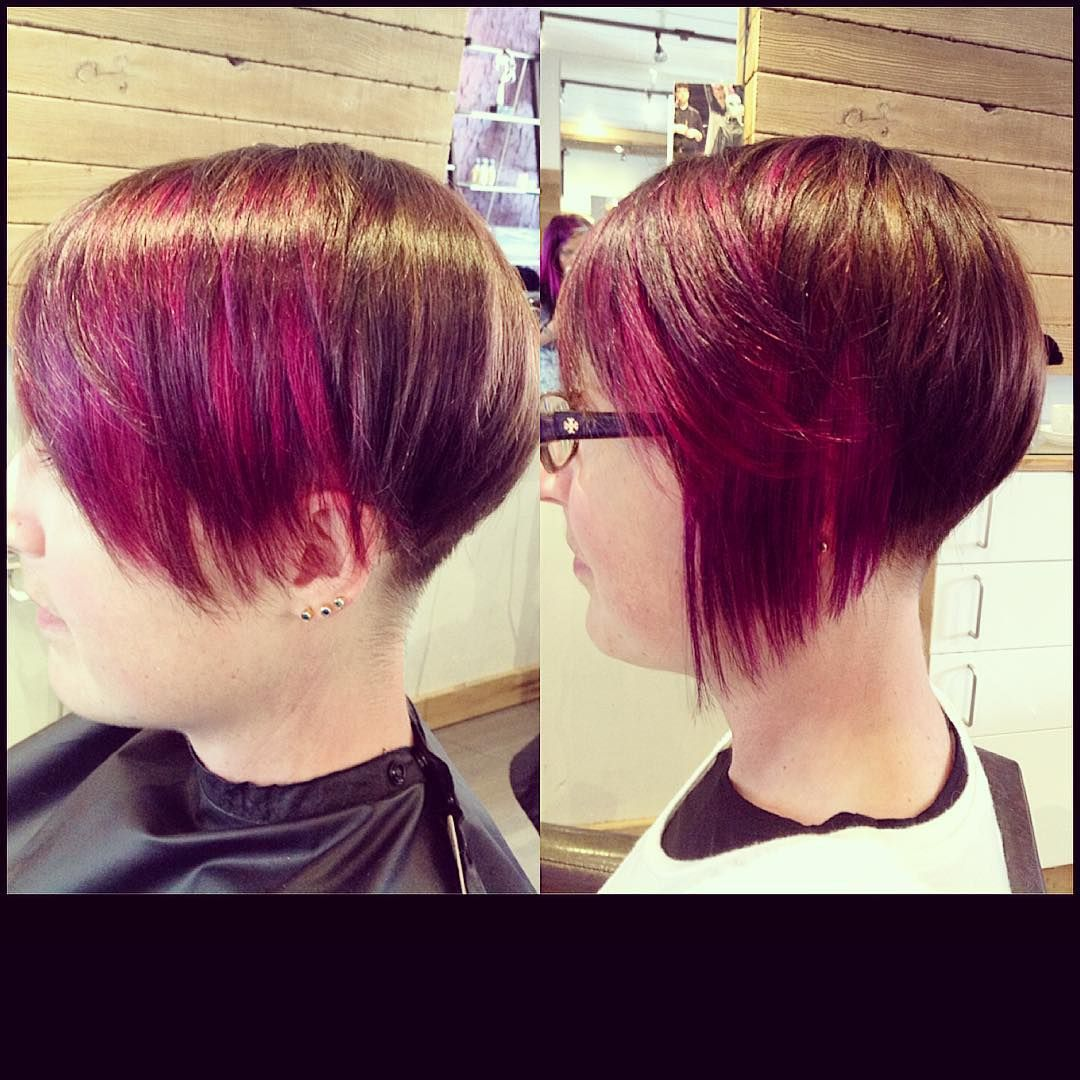Beautiful colour cut and extension application created by Whitney  #elumen #undercut #creativity #kwcommunity #kwawesome #artline #artlinesalon #artist #hotheadextensions