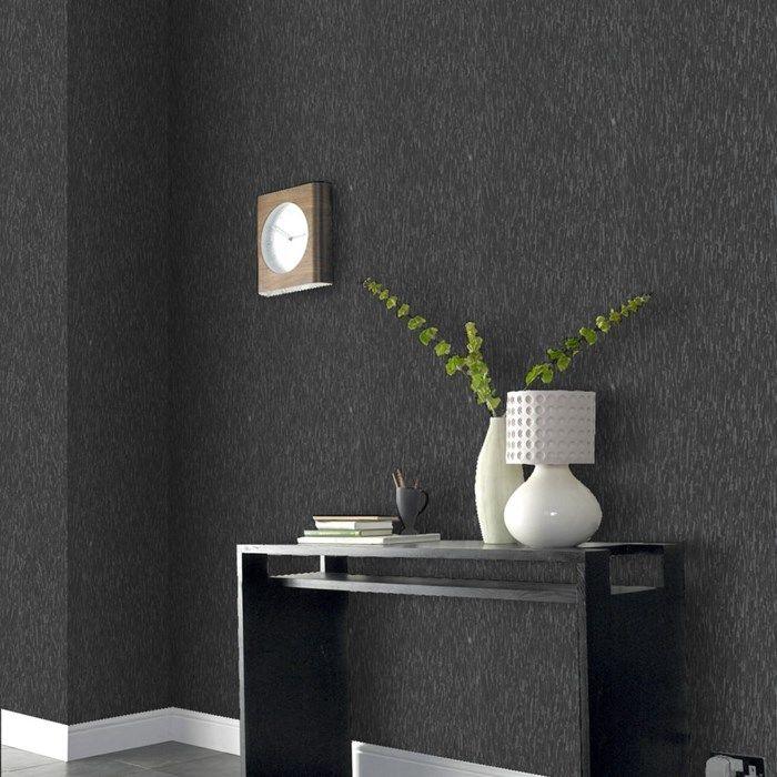 Heston Charcoal Graham And Brown Dark Grey Wallpaper Grey Wallpaper Living Room Black And Grey Wallpaper Dark grey wallpaper bedroom