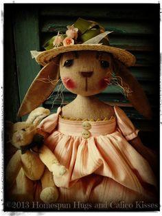 Bonecos e bichinhos de Páscoa on Pinterest | Bunnies, Rabbit and ...