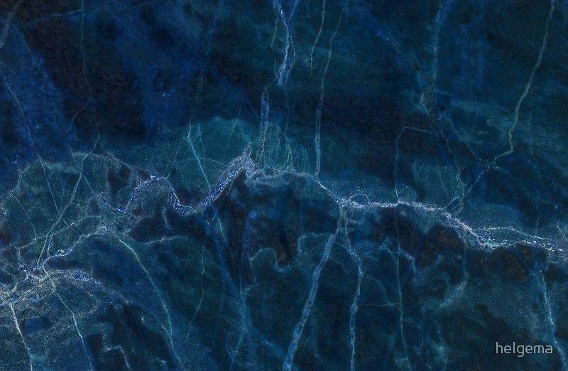 Dark Blue Marble Blue Marble Dark Blue Blue