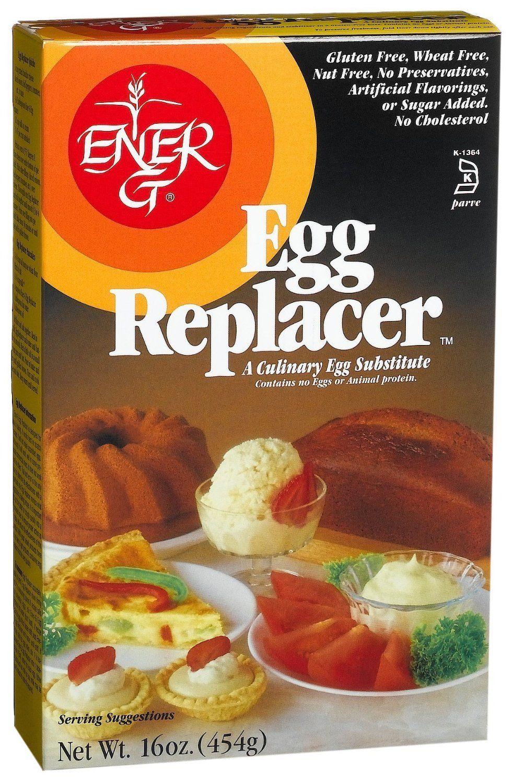 Ener G Egg Replacer 454g Amazon De Lebensmittel Getranke Vegan Egg Substitute Vegan Eggs Egg Replacer