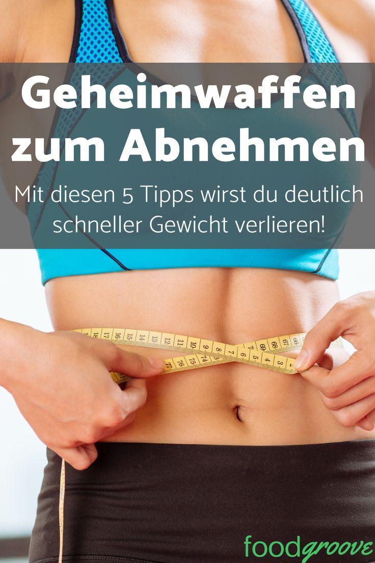 Trick, um schnell Gewicht zu verlieren
