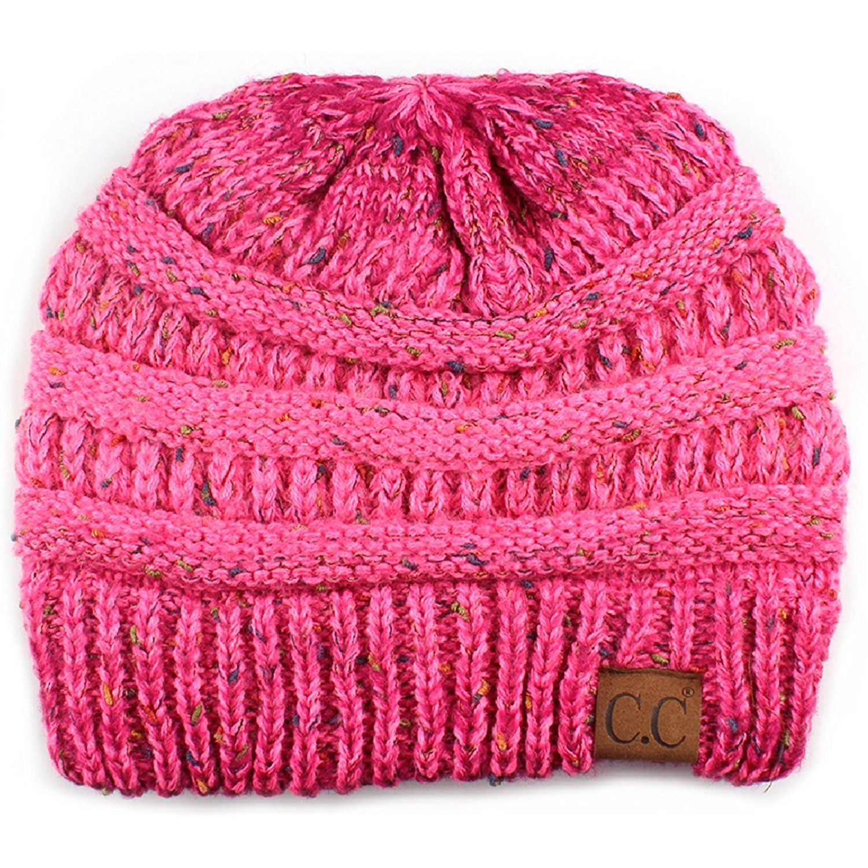 a1221bd4c Funky Junque FunkyJunque C.C Confetti Knit Beanie - Thick Soft Warm ...