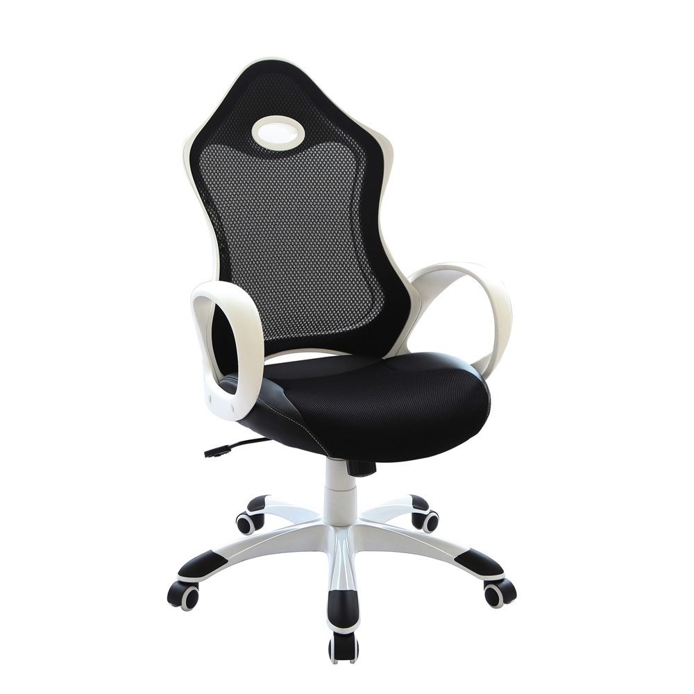Mansell Executive Racing Chair, Black/White