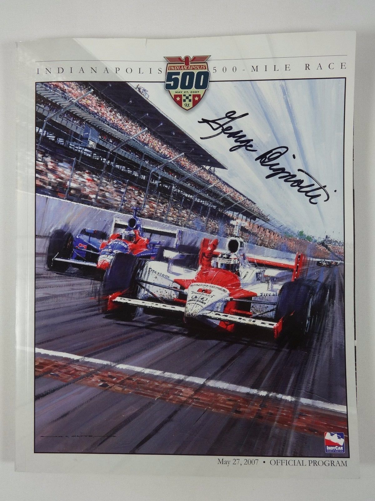 George Bignotti Autographed on Cover 2007 Indianapolis 500 Official Program  (eBay Link) a9306ac06