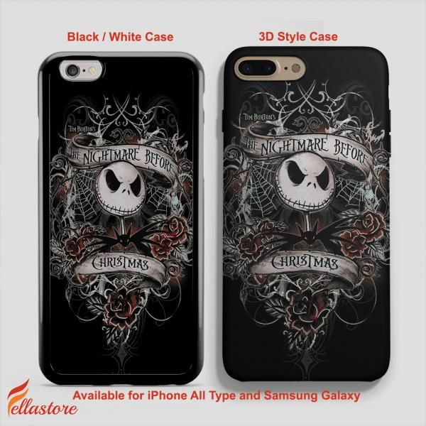 iphone 7 phone case nightmare before christmas