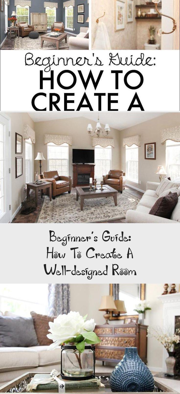 #interiordesignTips  #interiordesignShop  #interiordesignTrends  #interiordesignFurniture  #interiordesignRestaurant #Guide- #Make  Beginner's Guide- How to Make a Well-Designed Room