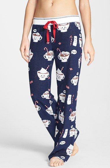 These Are The Cutest Pj Pants Ever Salvage Print Thermal Available At Size Small