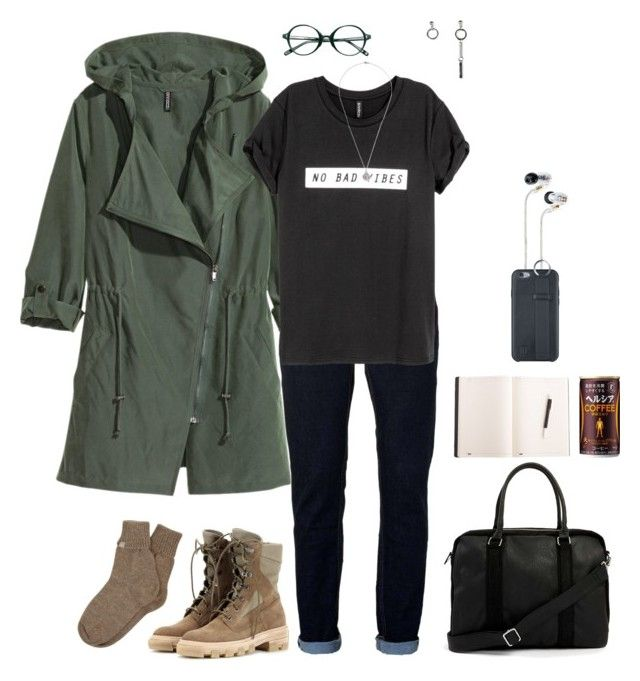 """""""so far away"""" by acuteangel ❤ liked on Polyvore featuring Shure, Topman, Balenciaga, Samantha Holmes and ful"""