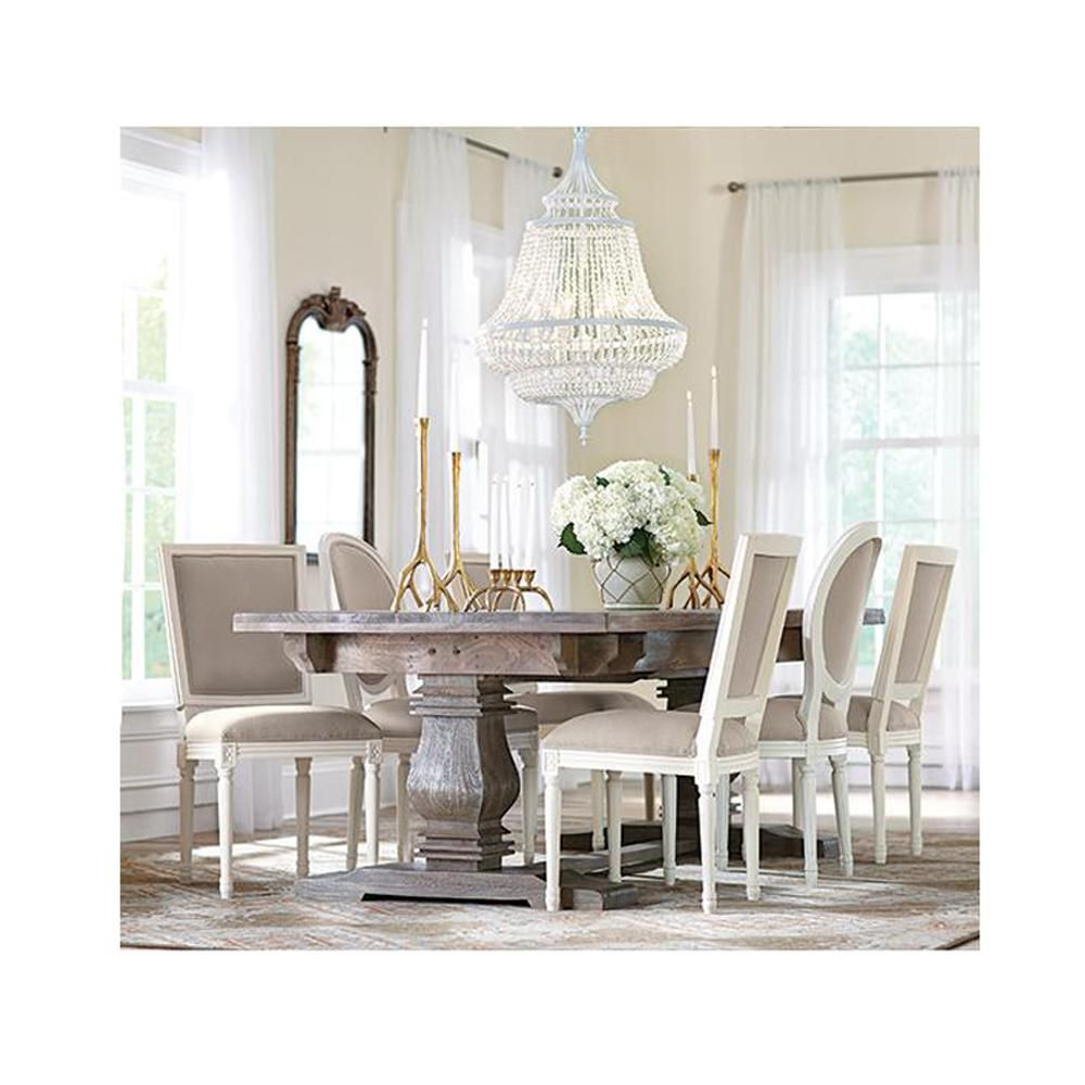 Aldridge Antique Grey Extendable Dining Table  Grey Dining Tables Interesting Grey Dining Room Sets Decorating Inspiration