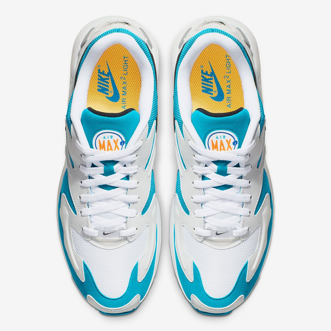 9867a756813 Nike Air Max 2 Light Dolphins AO1741-100 Release Info