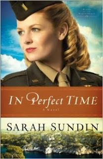 Enter for a chance to win a copy of In Perfect Time by Sarah Sundin! Giveaway is open to the US and ends 8/28.  http://christianbookshelfreviews.blogspot.com/2014/08/thursday-giveaway-in-perfect-time-by.html