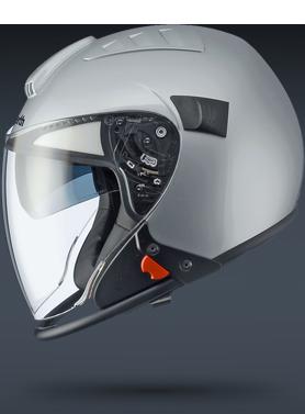 The Shuberth J1 motorcycle helmet. Admittedly, it looks