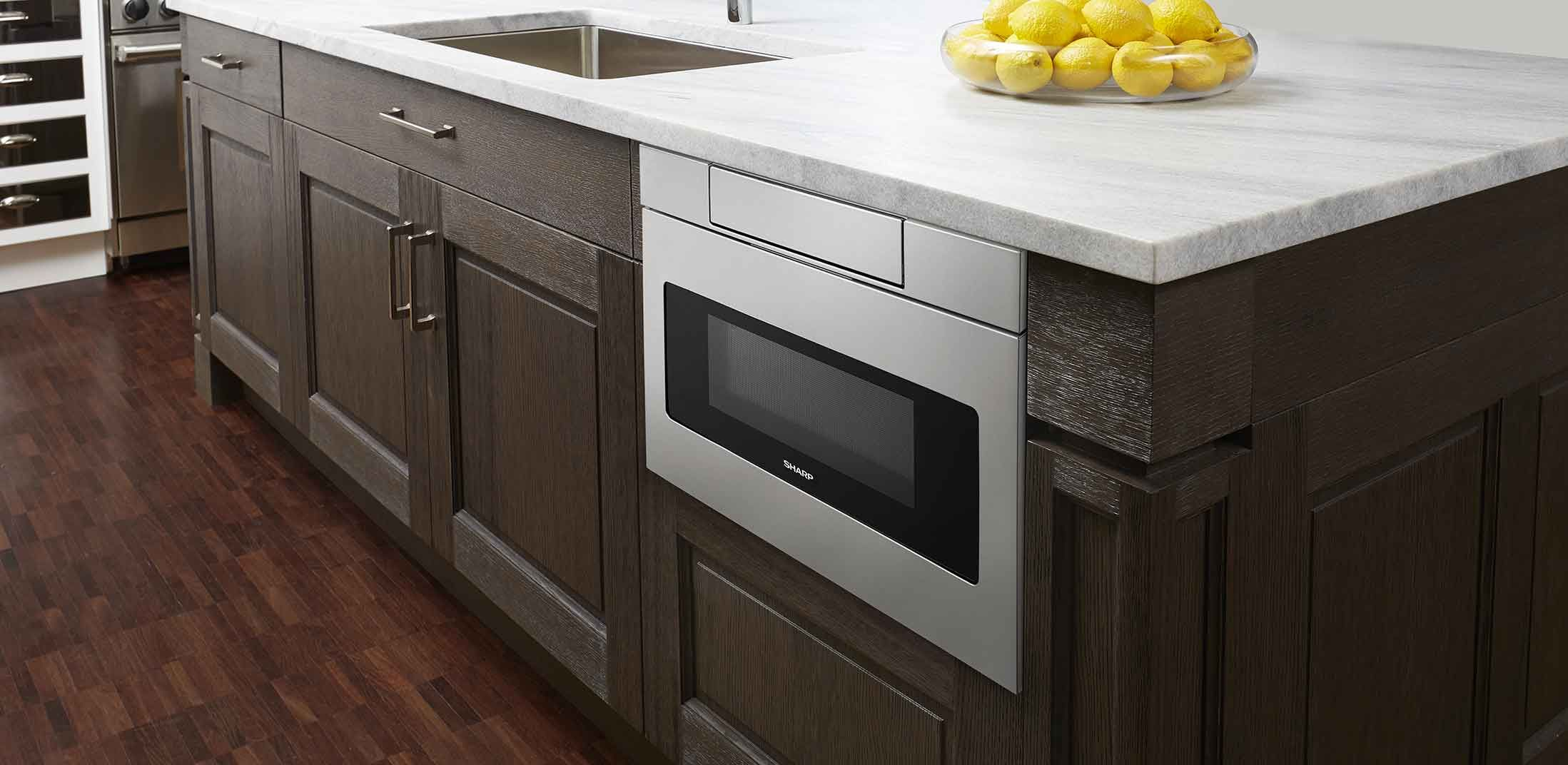 Sharp 24 Inch Microwave Oven Drawers The Easy Open