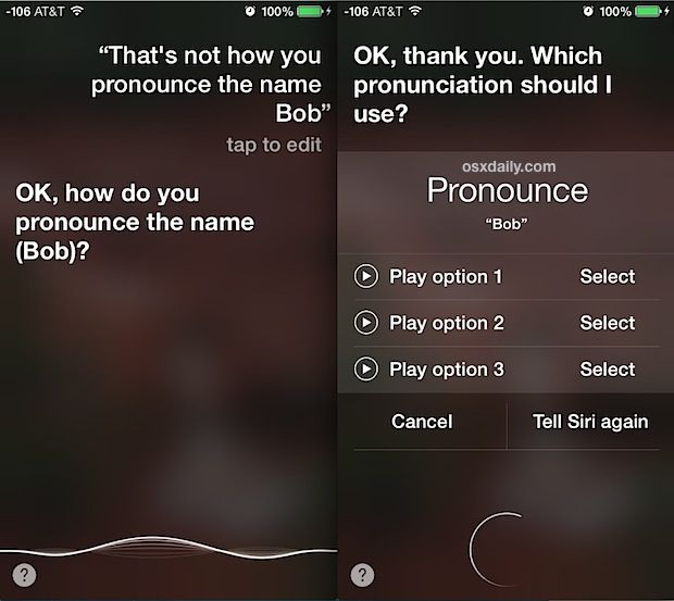 Correct How Siri Pronounces Names On Iphone Ipad With Images