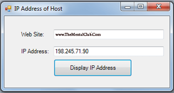 Find The Ip Address Of A Website Hey Friends How Are You Ithink You Are Fine Happy X Mas In Advance Today I Willshow Youhow To Fi Ip Address Prompts Website
