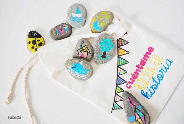 Juego Creativo Con Piedras Pintura De Piedras Y Otros Pinterest