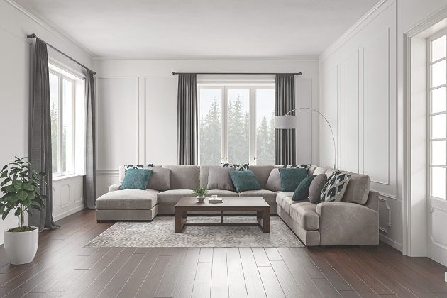 Best Bardarson 5 Piece Sectional With Chaise In 2019 400 x 300