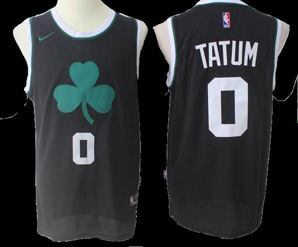 brand new a8f44 fb5ab Boston Celtics Jersey - Jayson Tatum Black Jersey | Products ...