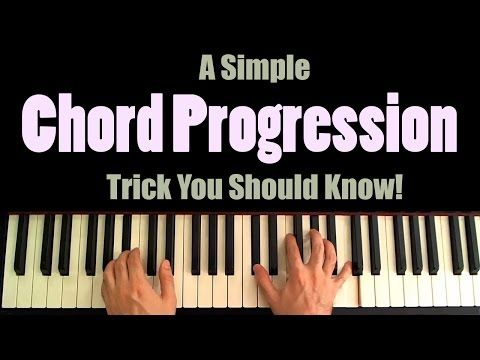 A Simple Chord Progression Trick You Should Know Youtube Piano