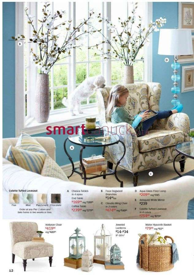 Pier 1 Imports flyer Jan 2 to 27. Pier 1 Imports flyer Jan 2 to 27   Pier 1 catalogs   Pinterest