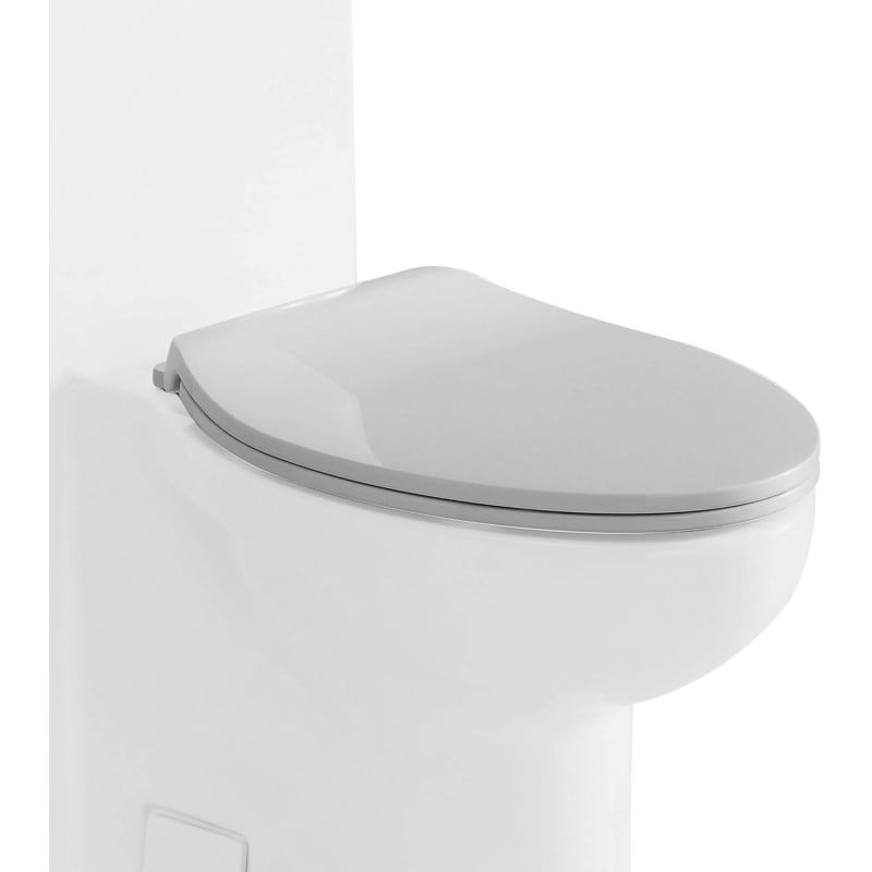 Eago R 377seat Elongated Closed Front Toilet Seat With Soft Close