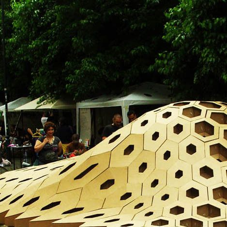 Attractive HEXigloo Pavilion Workshop By T_A_I In Bucharest, Rumania Pictures Gallery