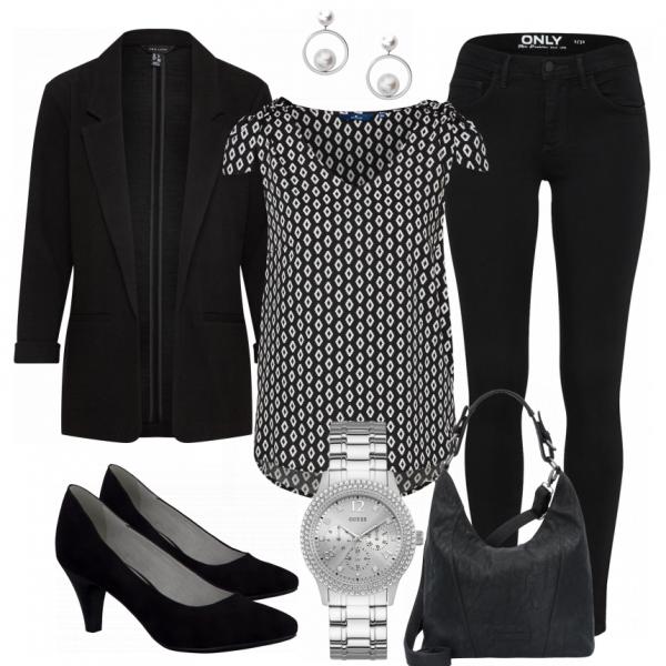 closer damen outfit komplettes business outfit g nstig kaufen n hen mode. Black Bedroom Furniture Sets. Home Design Ideas