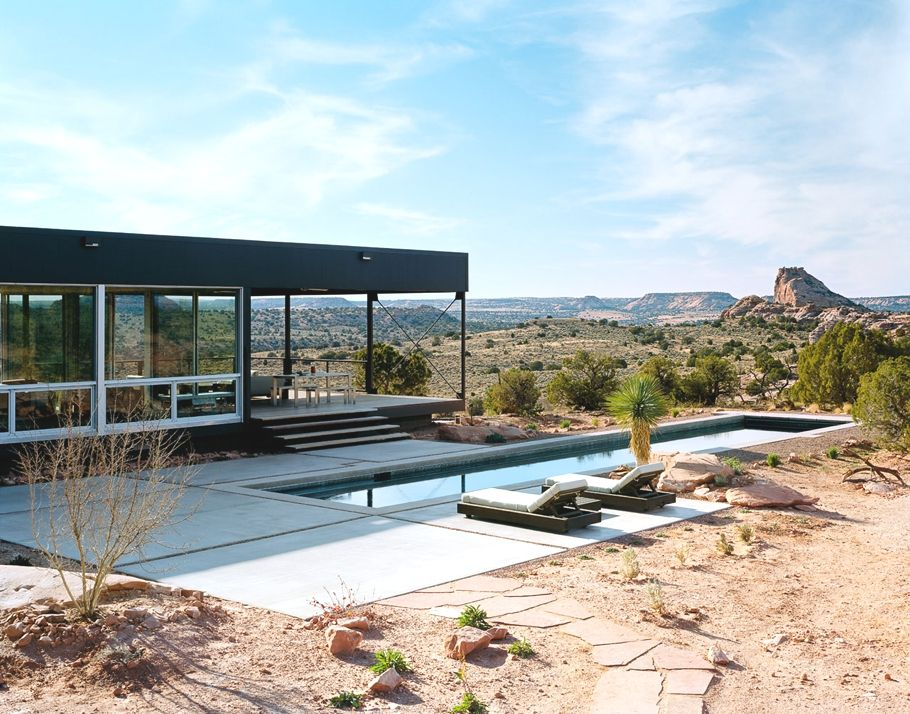 Los Angeles Based Architectural Firm Marmol Radziner Has Completed The  Hidden Vally House, A Prefab Home Located In Moab, Utah.