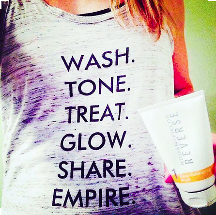 Wash your face and tell people about it! #whatif #rodanandfields