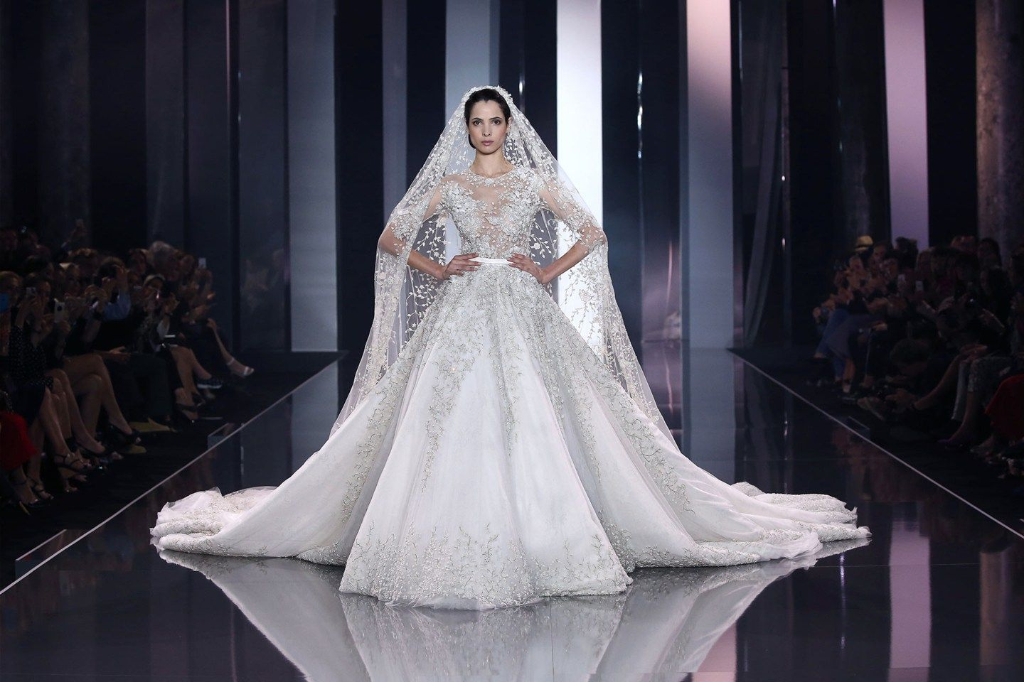 ralph russo white fluff wedding dresses pinterest