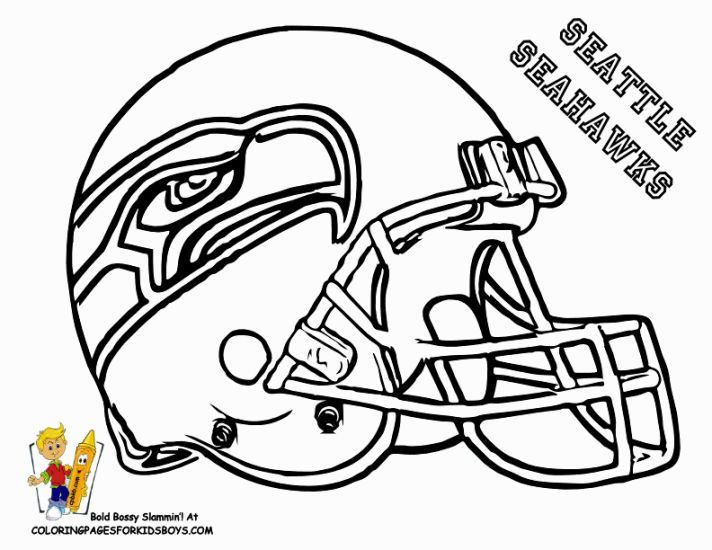 Seattle Seahawks Coloring Pages Football Coloring Pages Seahawks Football Sports Coloring Pages