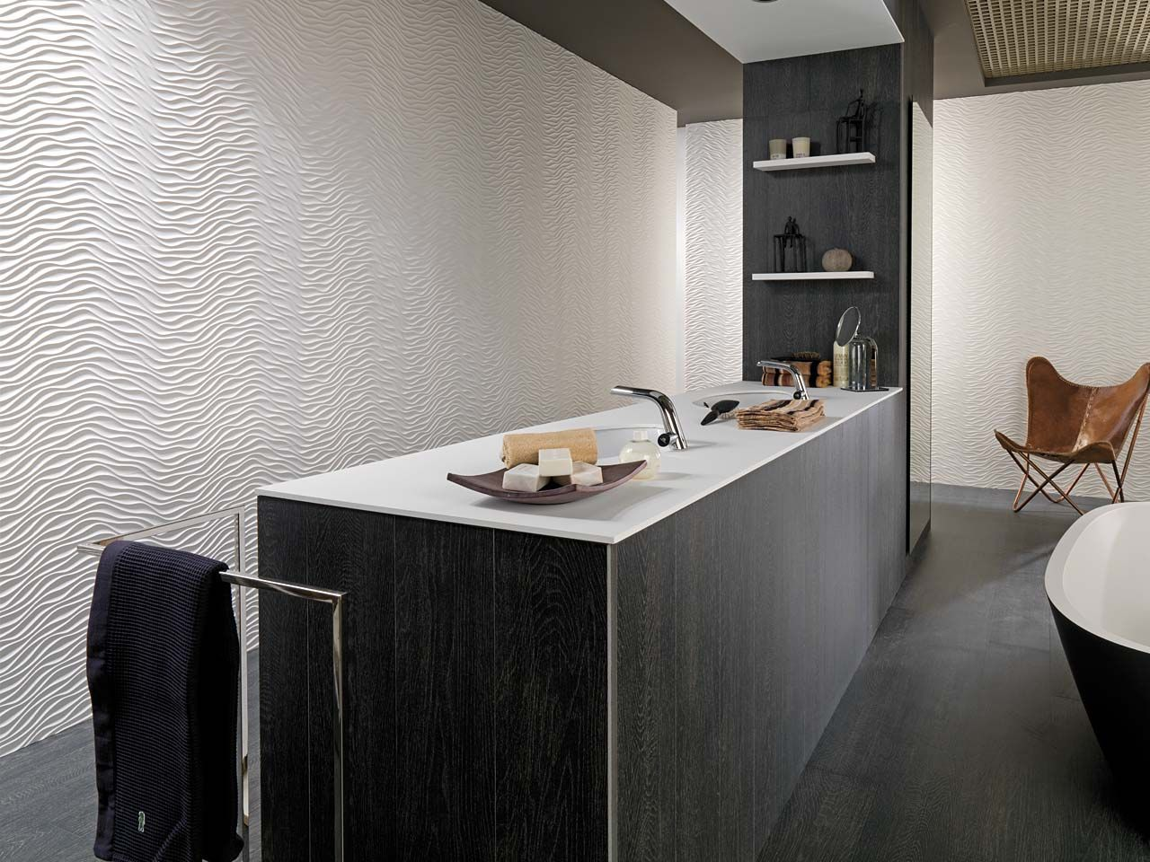 Porcelanosa S Ceramic Tiles For Modern Bathroom Space